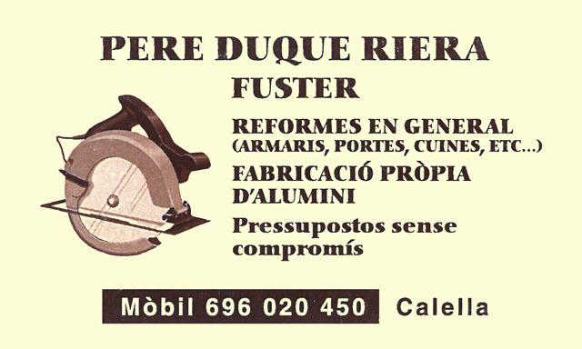 Sr. Pere Duque Riera